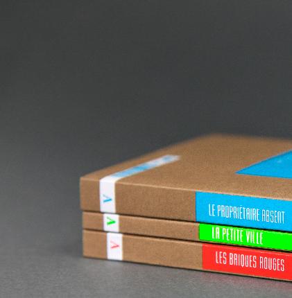 Charte graphique - éditions Amsterdam