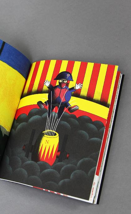 Le nouvel Attila - Napoléon is not dead - illustration - Sylvain Lamy