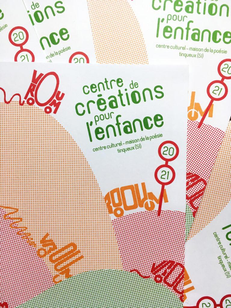 Illustration pour le programme du centre de création pour l'enfance de Tinqueux