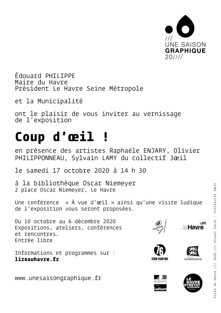 Vernissage Coups d'œil - Une Saison Graphique - Biliothèque Oscar Niemeyer