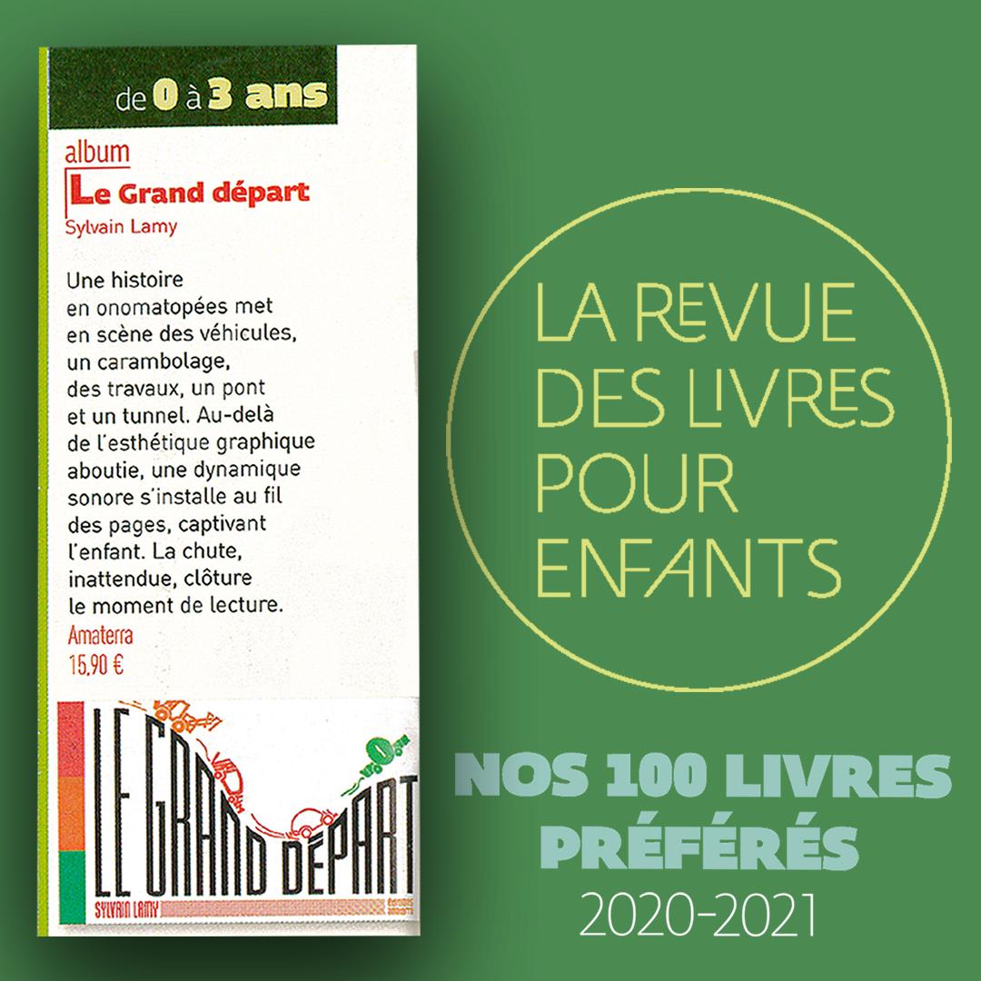 Le Grand Départ TOP 100 - La revue des livres pour enfant