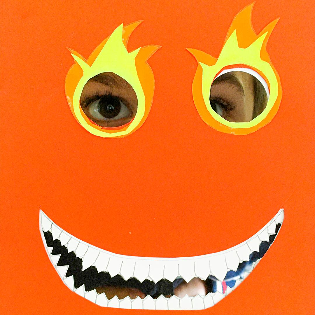 Atelier masque de monstre
